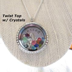 Customized Plate made to order for Origami Owl by CharminCharlies
