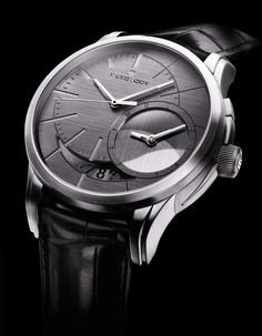 """Maurice Lacroix 'Pontos Décentrique GMT' by Arik Levy – """"Raw and Essential"""" ----- only 1 piece for a lucky person."""