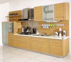Mdf kitchen cabinet gabinete de cocina puertas for Gabinetes de cocina modernos