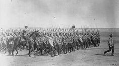 Russian troops, First World War.
