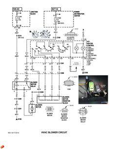 Heat & A/C control switch Schematic