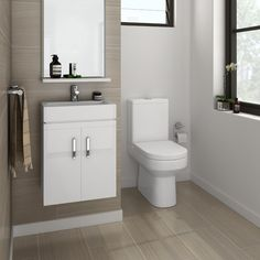 Our stylish Nova Cloakroom Suite will give you plenty of room to store all those daily essentials in smaller bathrooms.