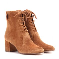 Gianvito Rossi - Finlay suede ankle boots - mytheresa.com