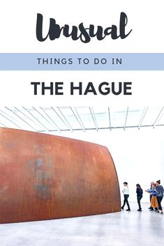 A collection of the best and most unusual things to do in the Hague Netherlands. The city of the Hague, or Den Haag, has so many wonderful things to do from art museums to a curious sandy beach and the Peace Palace. Find the Girl with a Pearl Earring and plenty more besides. It's one of my favourite cities. #ThisistheHague #Netherlands #TheHague
