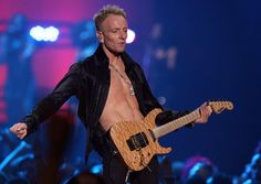 Gallery For > Def Leppard Guitarist