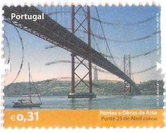 """Pontes e Obras de Arte - Ponte SALAZAR. Depois, não percebo porque razão, passou a chamar-se Ponte 25 de Abril - """"Uns fazem a OBRA e outros FICAM com os louros"""" ... - Lisboa - Portugal"""