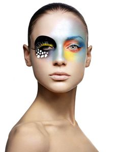 Beautiful photography by Ryan Michael Kelly. These tropical fish inspired beauty looks are so fresh, colorful, fun and inspiring!