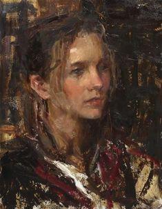 Daniel F. Gerhartz - Portrait of a Young Woman