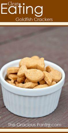 Homemade Goldfish Crackers | via @Matty Chuah Gracious Pantry (Tiffany McCauley)