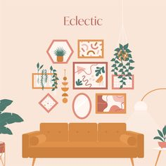 Gallery Wall Tips, Tricks, And Layouts Eclectic Gallery Wall, Gallery Wall Bedroom, Gallery Wall Layout, Bedroom Wall, Gallery Walls, Eclectic Wall Decor, Mirror Gallery Wall, Wall Of Mirrors, Do It Yourself Inspiration