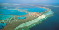 The Great Barrier Reefs / Known as the single greatest structure built by living organisms