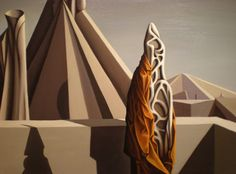 Kay Sage  Too soon for thunder, 1943