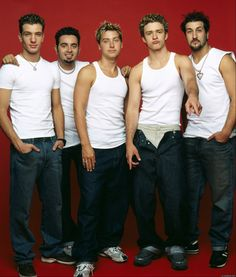 nsync celebrity --- JT in his younger days.....Pants down