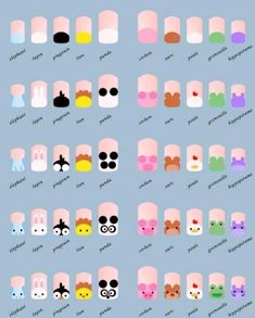 Nail Art Vidéo, Nail Art Disney, Nail Art Cute, Animal Nail Art, Rose Nail Art, Trendy Nail Art, Simple Nail Art Designs, Nail Nail, Nail Polish