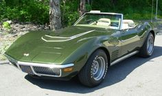 1970 Corvette LT1 Convertible