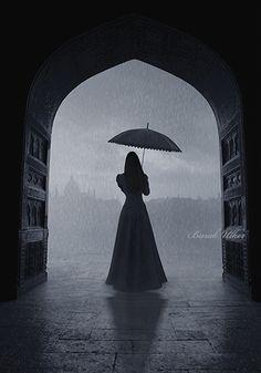 La Pluie (The Rain), 2013. Photo manipulation. Burak Ulker