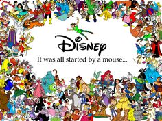 once upon a time there was a man name walt disney...he came up with his own very small little tiny world...maybe you heard of it?