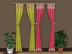 Download - Sims 2 Curtains - simetryne