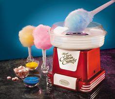 Retro Series Hard & Sugar-Free Cotton Candy Maker