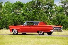 1958 Lincoln Continental Mark III Convertible.