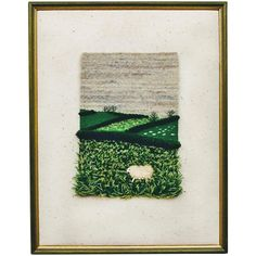 English Artist Liza Jay Woven Tapestry Landscape and Sheep