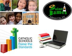 St. James School Faith + Service + Academic Excellence  Small class sizes + Tuition assistance      607-797-5444 st-James-ms.org Johnson City, Catholic School, Early Childhood, Ms, Faith, Loyalty, Infancy, Believe, Religion