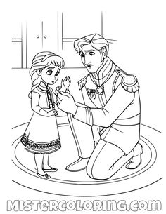 52 Best Frozen 2 Coloring Pages For Kids Images Coloring Pages
