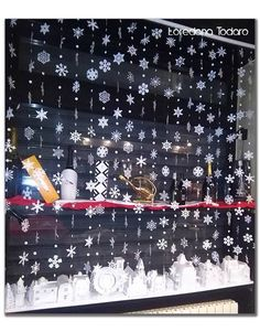 #papervillage #christmas #decor #natale #paper #snowflakes