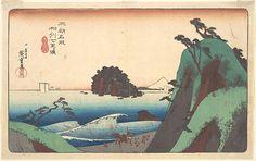 Utagawa Hiroshige | Soshu, Shichi-ri ga Hama | Japan | Edo period (1615–1868) | The Met