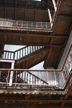 I just want to runaround and hang out on those stairs...I have no idea why...I love all the dark wood though!