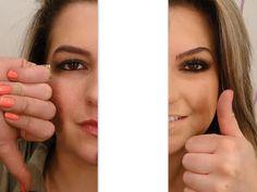Como vocês se maquiavam antes de conhecerem meu blog... (Alice Salazar)