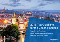 2016 Tax Guideline for the Czech Republic
