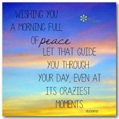 Good morning lovelies ♥
