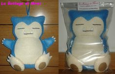 DISPONIBILE - Snorlax (Pokémon) peluches da appendere (18,5 x 18 cm) in pannolenci con imbottitura 100% poliestere. 6,00 €