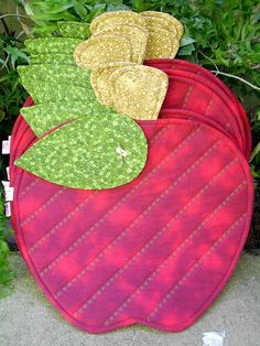 An apple a day..... (would make a good pot holder)
