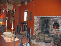 large open hearth cook fireplace - Google Search | Medieval Times ...