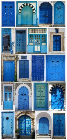 Doors of Tunisia. Katrina©B