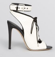 Brian Atwood Laced open toe