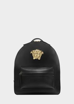 Medusa Palazzo leather backpack - D41OC