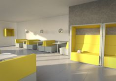 Deel jouw open kantoorruimte in met deze in het oog springende #meubelstukken #Fence van #Pledge Office Chairs. #Assmann is officiële distributeur van Pledge in Nederland.