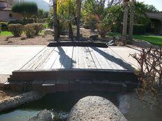 Wood Bridge by The Pond Gnome, via Flickr