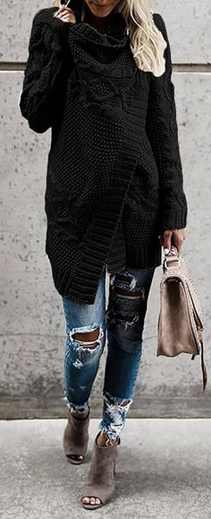 cable knit cardigan to warm you up