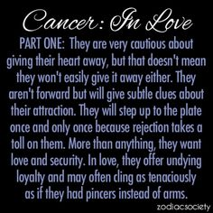 Cancer in ♡