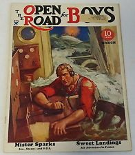 March 1934 OPEN ROAD FOR BOYS