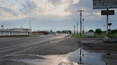 Rod Penner Catalina Motel / Wichita Falls,TX Acrylic on Canvas 45 x 63 inches 2006 via Artist