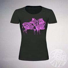 Hey, I found this really awesome Etsy listing at https://www.etsy.com/uk/listing/469606801/ladies-zebra-tshirt-pink-zebra-zebra