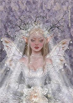 Maxine Gadd published fairy and fantasy artist. Exceptional digital illustrations and mystical beings Magical Creatures, Fantasy Creatures, Fantasy Kunst, Fantasy Art, Fantasy Fairies, Unicorn Fantasy, Illustration Fantasy, Photos Originales, Snow Fairy