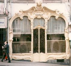 Portugal (cast iron shopfront) Vicent: Rua 31 de Janeiro ~ Porto by curry15, via Flickr