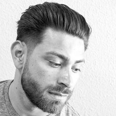 Tapered Sides with Natural Slick Back