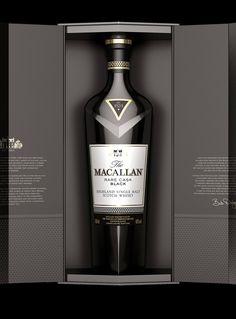 The Macallan Single Cask Black Best Rye Whiskey, Scotch Whiskey, Whisky Club, Alcohol Dispenser, Best Wine Clubs, Alcohol Bottles, Liquor Bottles, Strong Drinks, Spiritus